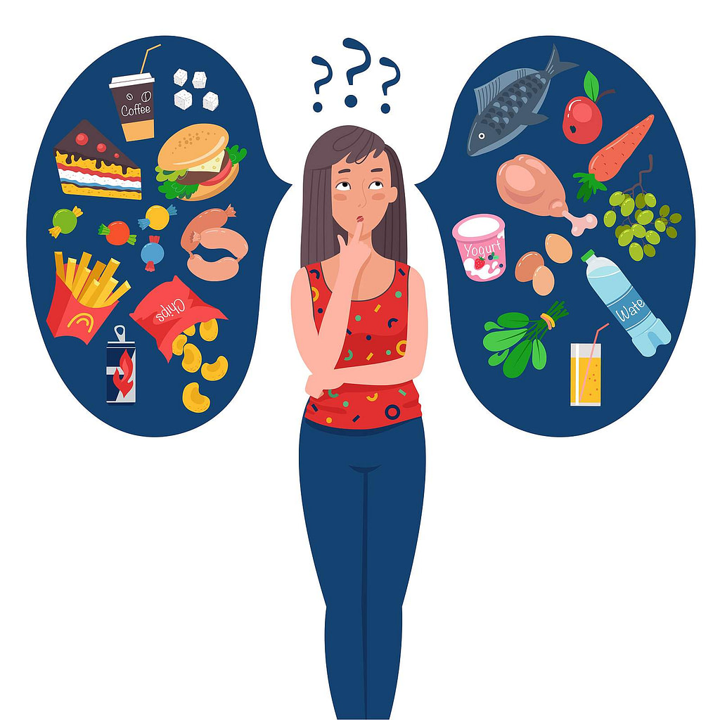 Making Healthy Choices To Lose Weight