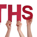 People Hands Holding Word Myths About Weight Loss Myths