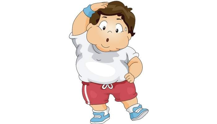 Fat Man Exercising Without Any Weight Loss