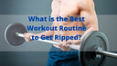 what is the best workout routine to get ripped