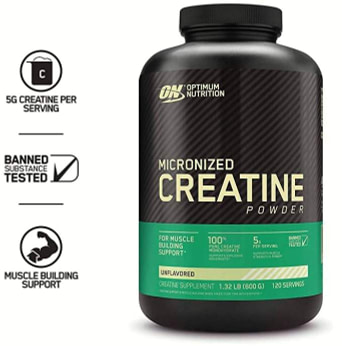 Creatine Monohydrate for Building Muscle Mass