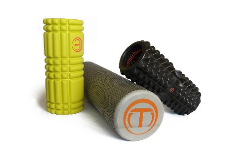 3 styles of Textured Foam Rollers