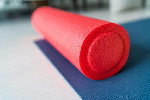 smooth foam roller image