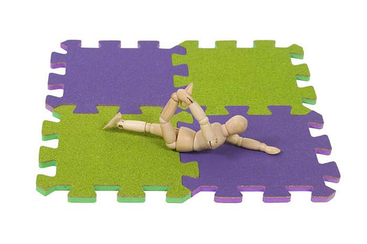 interlocking fitness mats