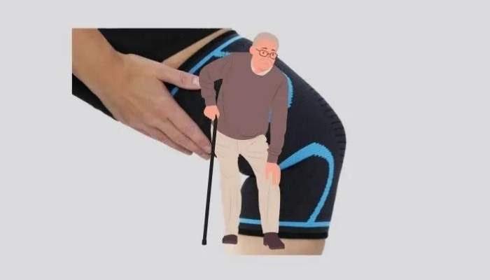 knee sleeve background for osteoarthritis
