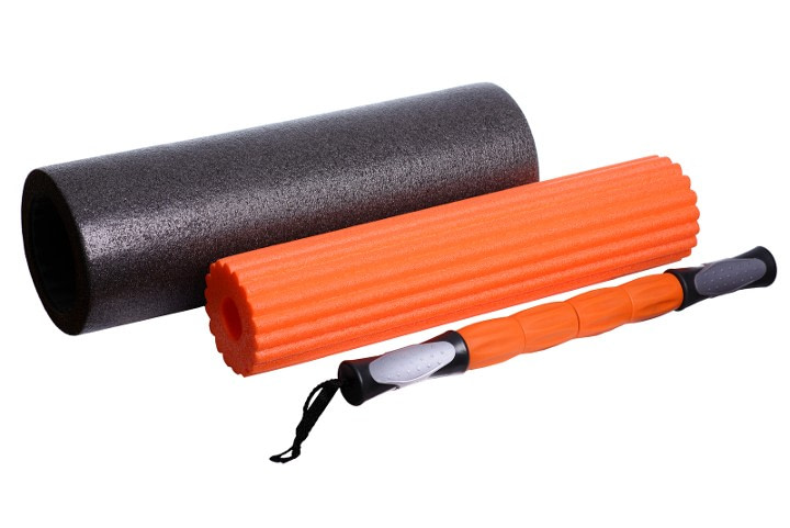 3 types of foam rollers for pain relief